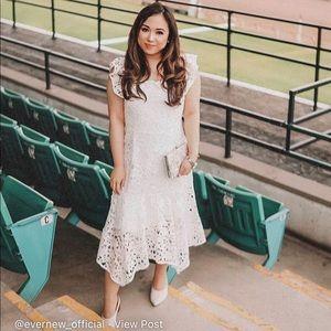 EverNew Hanky Hem Bardot Dress